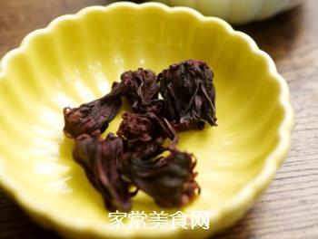 洛神花荷叶茶的做法步骤:1