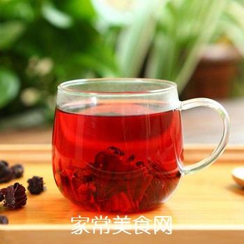 洛神花荷叶茶的做法