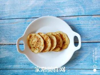 水果  香蕉鸡蛋饼的做法步骤:7
