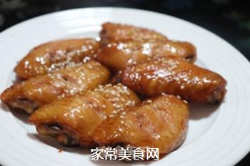 叉烧酱鸡翅的做法步骤:4
