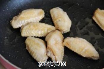 番茄酱焖鸡翅的做法步骤:3
