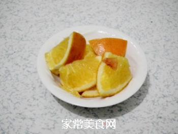 橙香可乐鸡翅的做法步骤:2