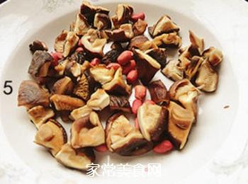 香菇蒸鸡翅的做法步骤:5