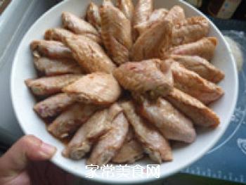 蒜香蒸鸡翅的做法步骤:8