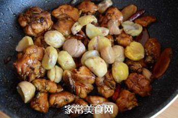 红焖栗子鸡的做法步骤:10