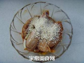 油润清爽---粉蒸鸡翅的做法步骤:3