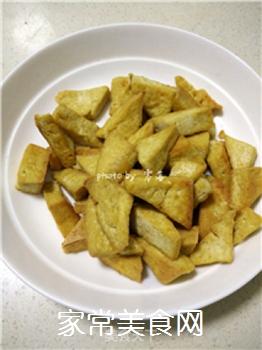 #信任之美#叉烧蜜汁豆腐角的做法步骤:6
