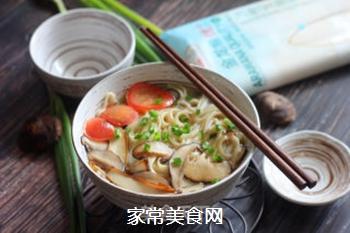 菌菇汤面的做法步骤:16