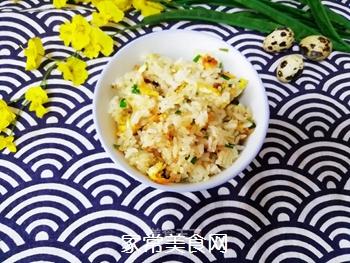 韭菜炒饭的做法