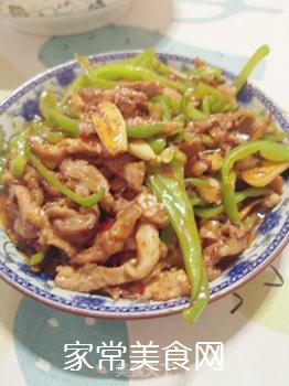 青椒肉丝(家常版)的做法步骤:4