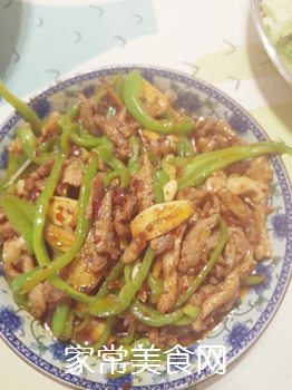 青椒肉丝(家常版)的做法