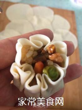饺子皮烧卖的做法步骤:9