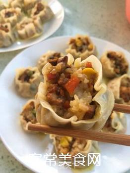 饺子皮烧卖的做法步骤:13