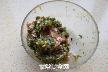 茴香馅生煎包的做法步骤:4