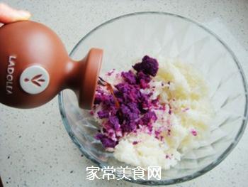 紫薯花瓣寿司的做法步骤:3
