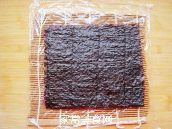 紫薯花瓣寿司的做法步骤:12