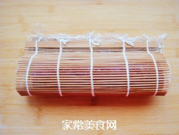 紫薯花瓣寿司的做法步骤:15