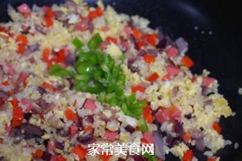 蛋炒饭的做法步骤:8