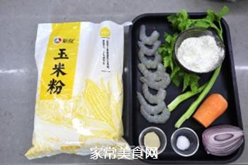 玉米面丸子发糕的做法步骤:1