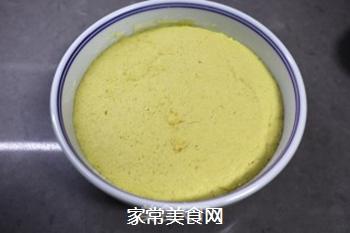 玉米面丸子发糕的做法步骤:6