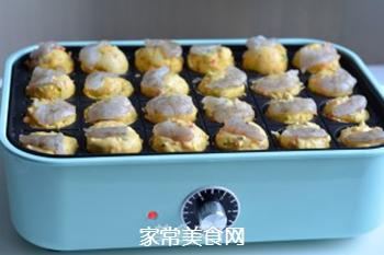 玉米面丸子发糕的做法步骤:10