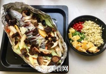 泰式锡纸烤黑鱼的做法步骤:2