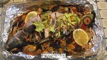 泰式锡纸烤黑鱼的做法步骤:4