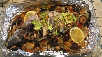 泰式锡纸烤黑鱼的做法