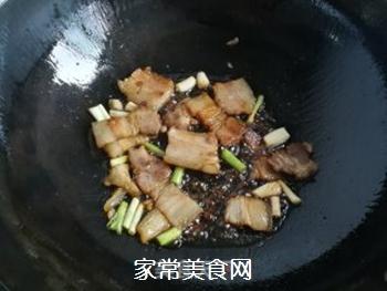 春笋豆干炒回锅肉的做法步骤:9