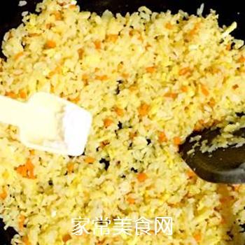 葱油蛋炒饭的做法步骤:11