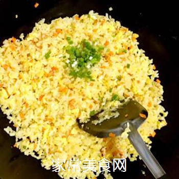 葱油蛋炒饭的做法步骤:12