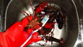 清蒸小龙虾的做法步骤:2