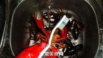 清蒸小龙虾的做法步骤:3