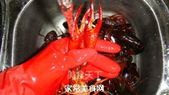 清蒸小龙虾的做法步骤:4