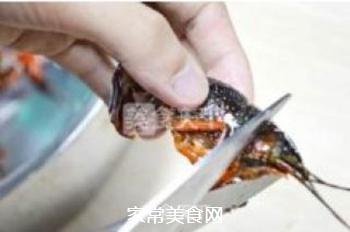 正宗潜江油焖大虾的做法步骤:4