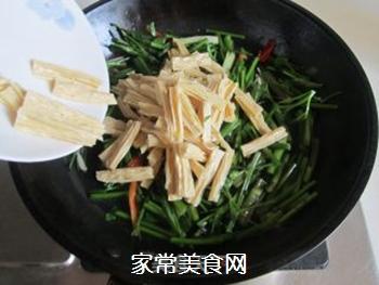 腐竹炒芹菜的做法步骤:5