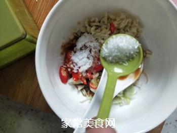 凉菜~炝黑白的做法步骤:6
