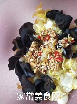 凉菜~炝黑白的做法步骤:8