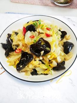 凉菜~炝黑白的做法