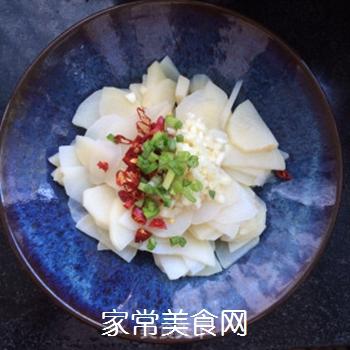 凉拌土豆片的做法步骤:5