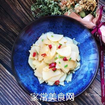 凉拌土豆片的做法步骤:8