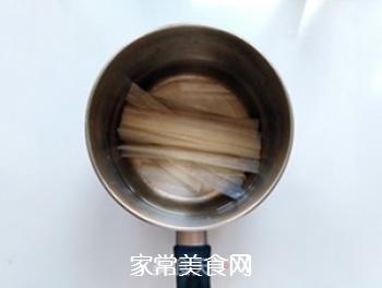 花生酱黄瓜拌粉皮的做法步骤:2