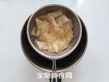 花生酱黄瓜拌粉皮的做法步骤:3