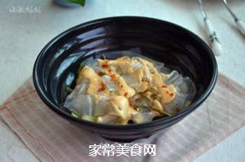花生酱黄瓜拌粉皮的做法步骤:7