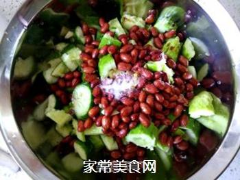 花生米拌黄瓜的做法步骤:11