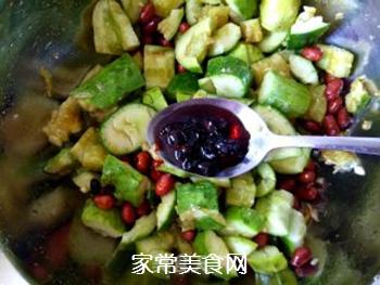 花生米拌黄瓜的做法步骤:12