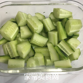凉拌黄瓜的做法步骤:3