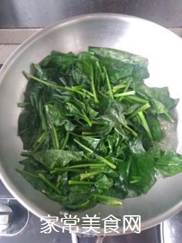 菠菜拌粉丝的做法步骤:6