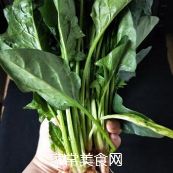 凉拌菠菜的做法步骤:2