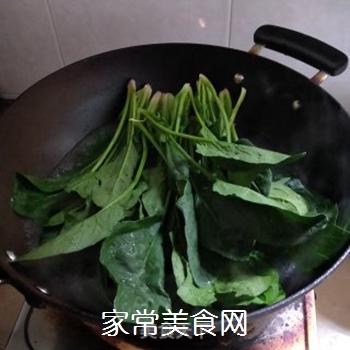 凉拌菠菜的做法步骤:3